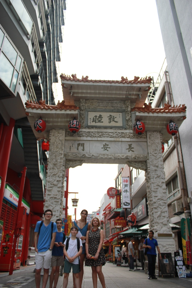 Lexis Japan Teen activity Program China Town